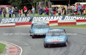 ROVER SD1 s FRANK SYTNER and JEFF ALLAM  Brands Hatch BTCC 1982